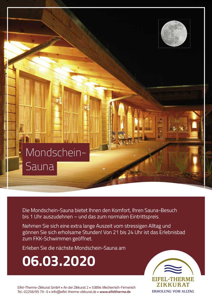 Mondschein-Sauna • Eifel-Therme