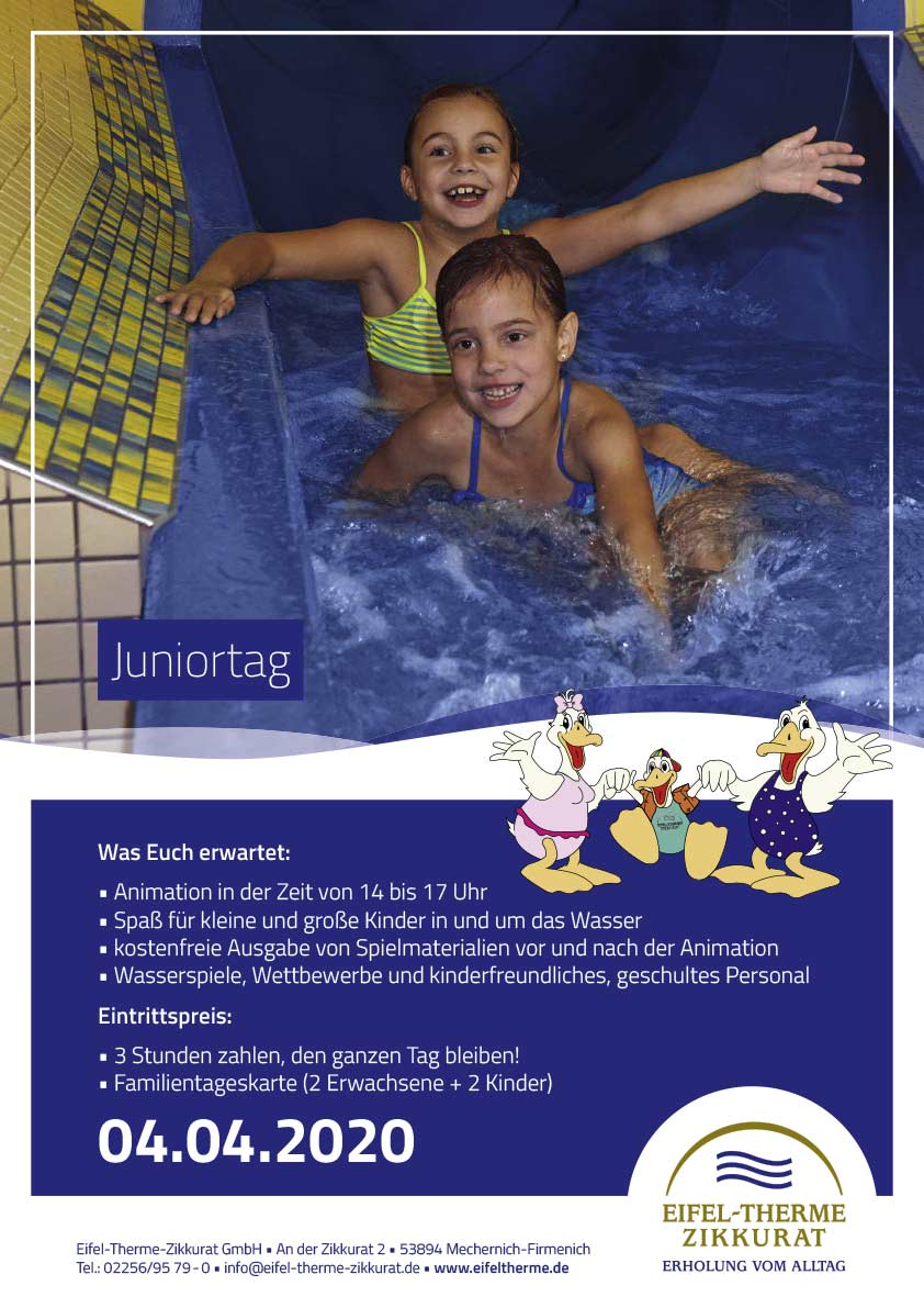 Juniortag • Eifel-Therme