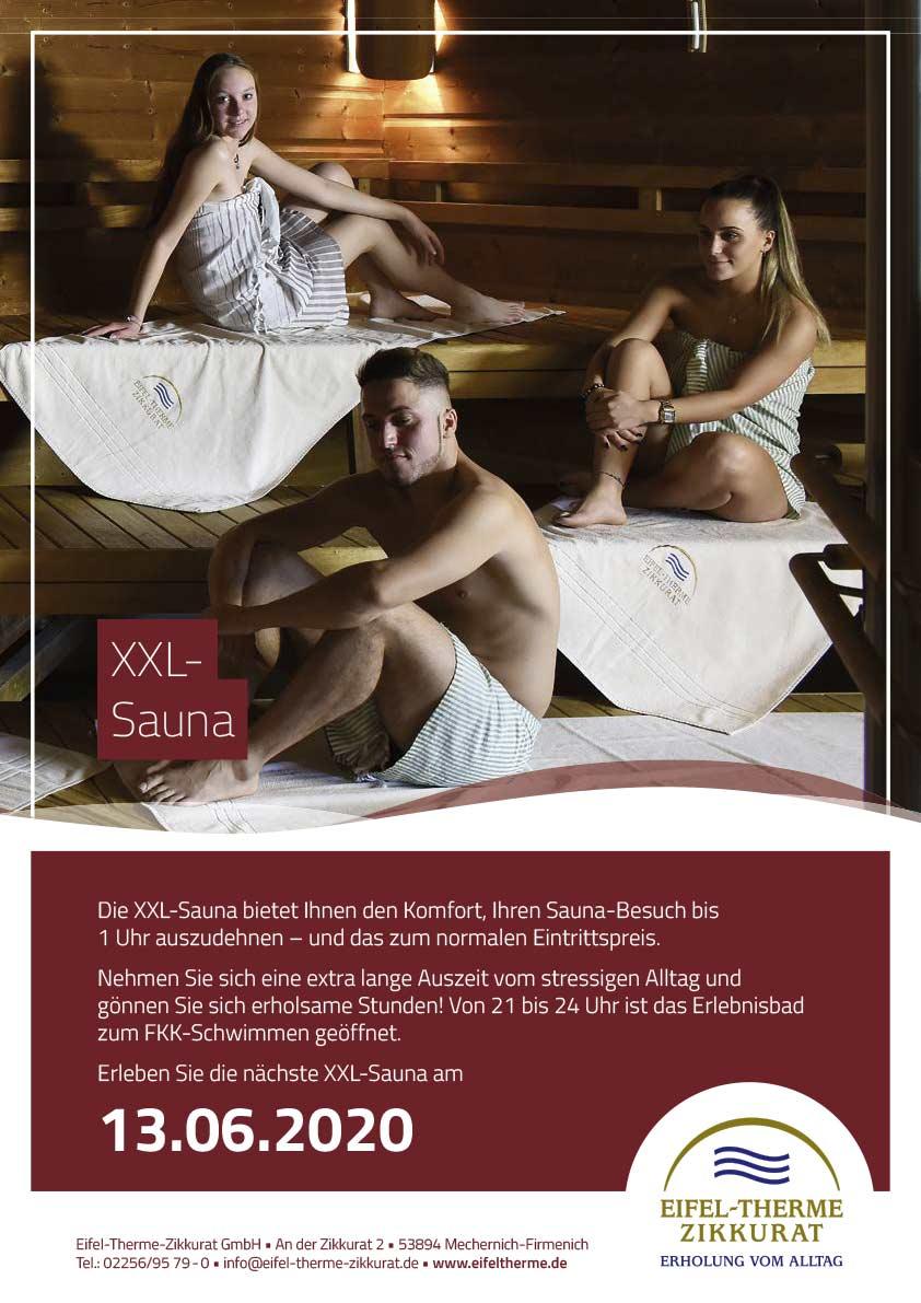 XXL-Sauna • Eifel-Therme
